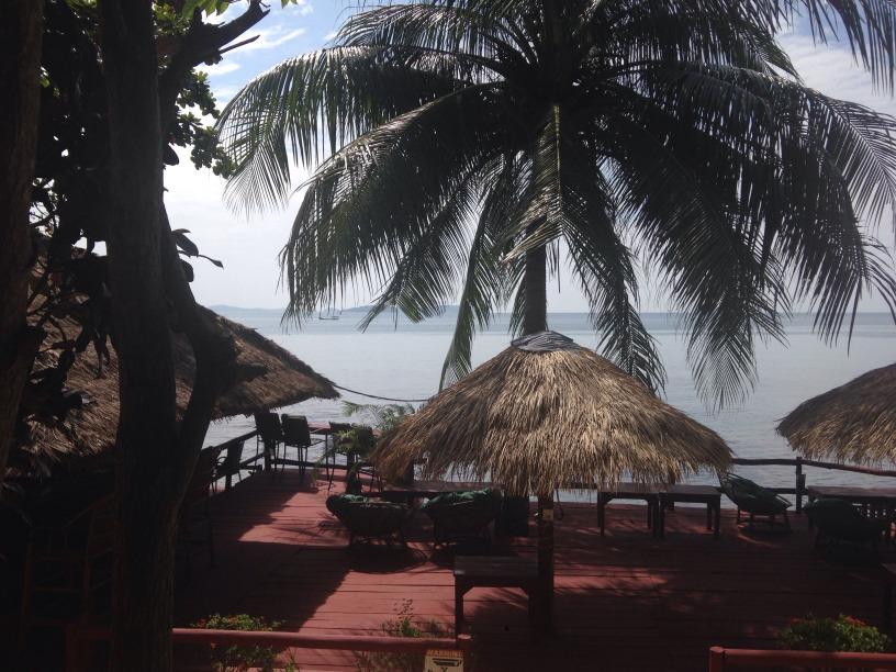 Utsikt över sydkinesiska sjön